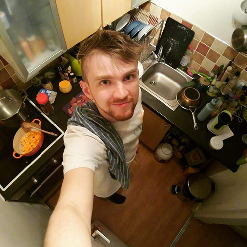 Me in My Tiny Kitchen